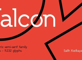 SK Falcon Font