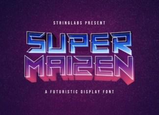 Super Maizen Font