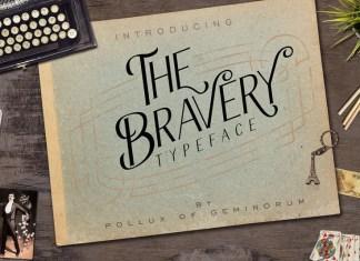 The Bravery Font