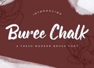 Buree Chalk Font