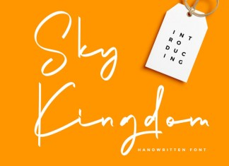Sky Kingdom Font