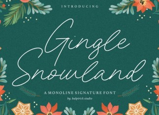 Gingle Snowland Font
