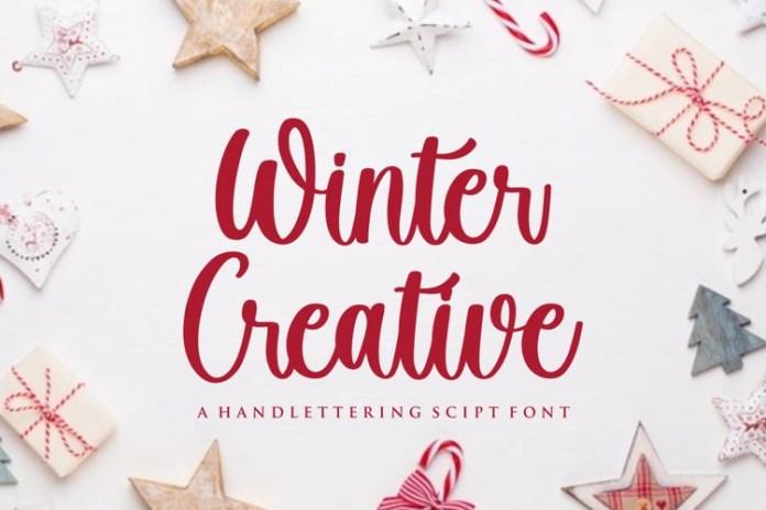 Winter Creative Font