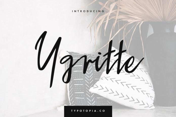 Ygritte Font