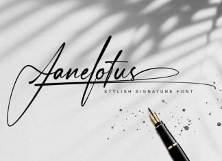Janelotus Font