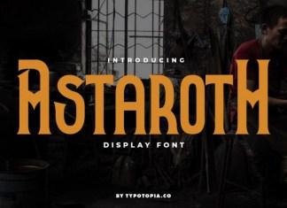 Astaroth Font