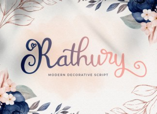 Rathury Font