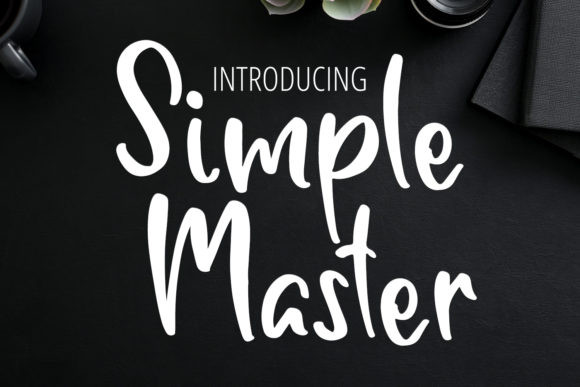 Simple Master Font