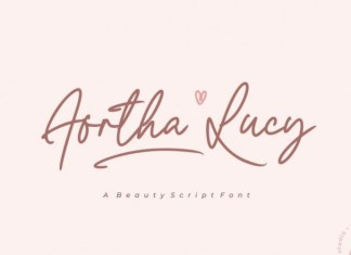 Aortha Lucy Font