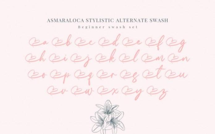 Asmaraloca Font