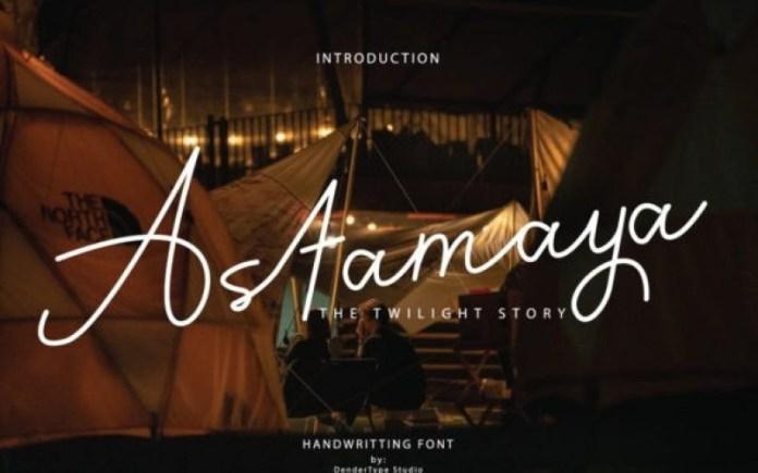 Astamaya Font