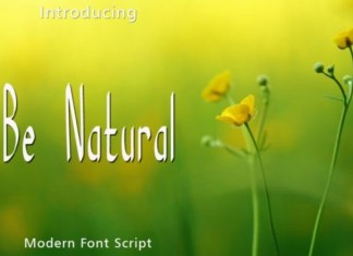 Be Natural Font