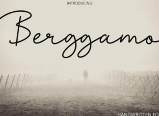 Berggamo Font