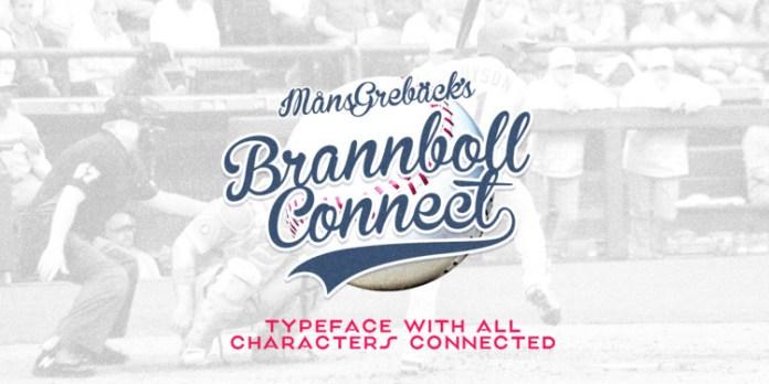 Brannboll Connect Font