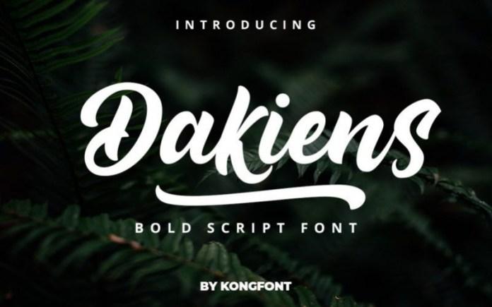 Dakiens Font