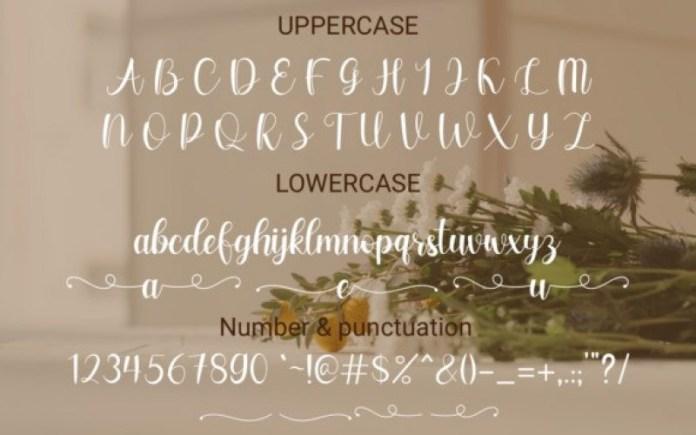 Falina Sweet Font