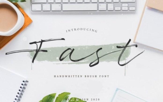 Fast Font
