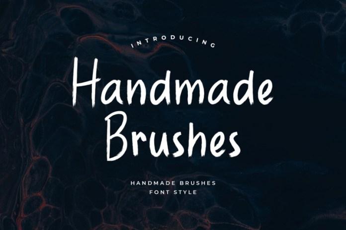 Handmade Brushes Font