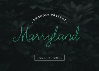 Marryland Font