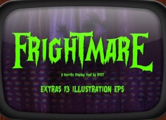 Frightmare Font