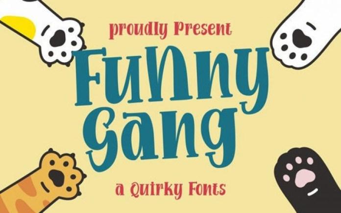 Funny Gang Font