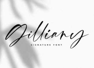 Gilliany Font