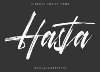 Hasta Font