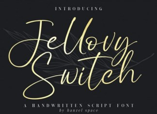 Jellovy Switch Font