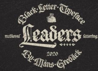 Leaders Font