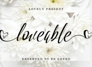 Loveable Font