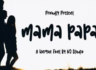 Mama Papa Font