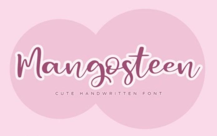 Mangosteen Font