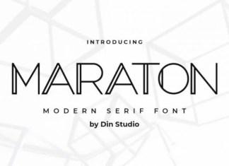 Maraton Font