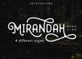 Mirandah Font