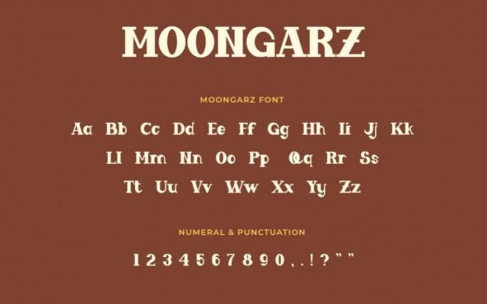 Moongarz Font