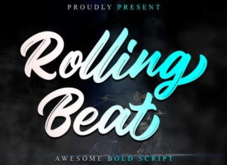 Rolling Beat Font