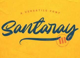 Santaray Font