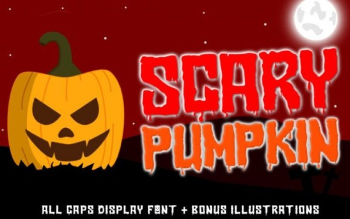 Scary Pumpkin Font