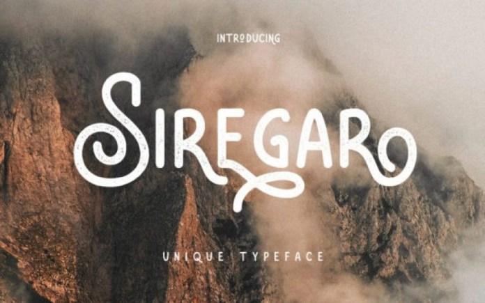 Siregar Font