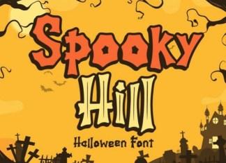 Spooky Hill Font