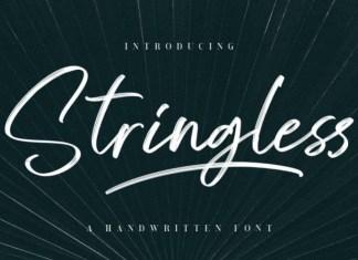 Stringless Font