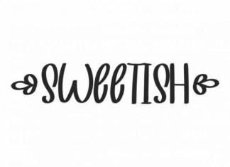 Sweetish Font