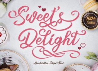 Sweets Delight Font