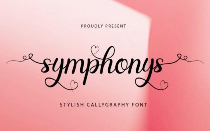 Symphonys Font