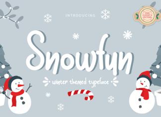 Snowfun Font