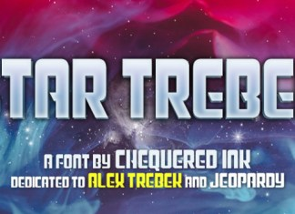 Star Trebek Font