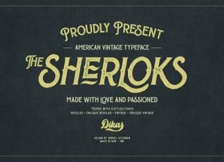 The Sherloks Font