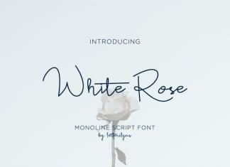 White Rose Font