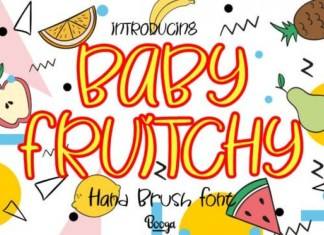 Baby Fruitchy Font