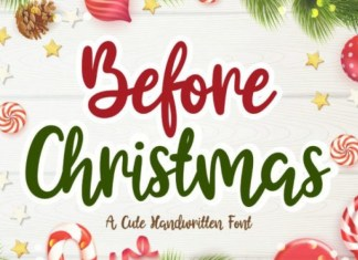 Before Christmas Font